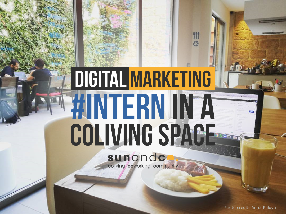 Sun and Co. is looking for you: digital marketing internship