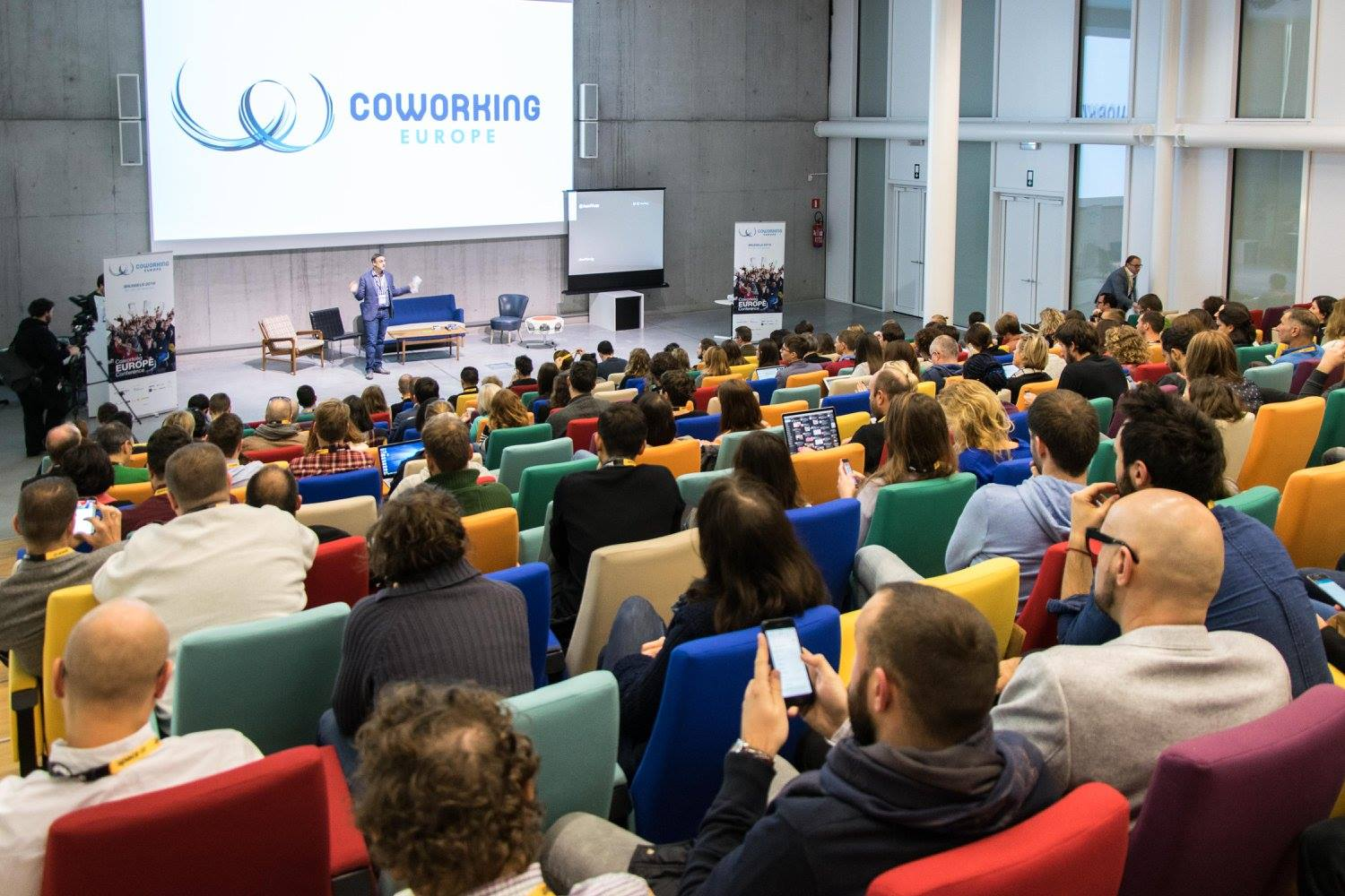 Some thoughts on Coworking Europe Conference 2016