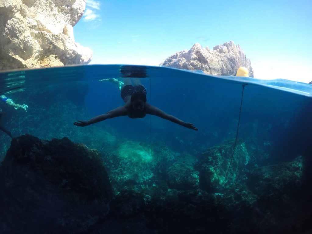 diving in the mediterranean