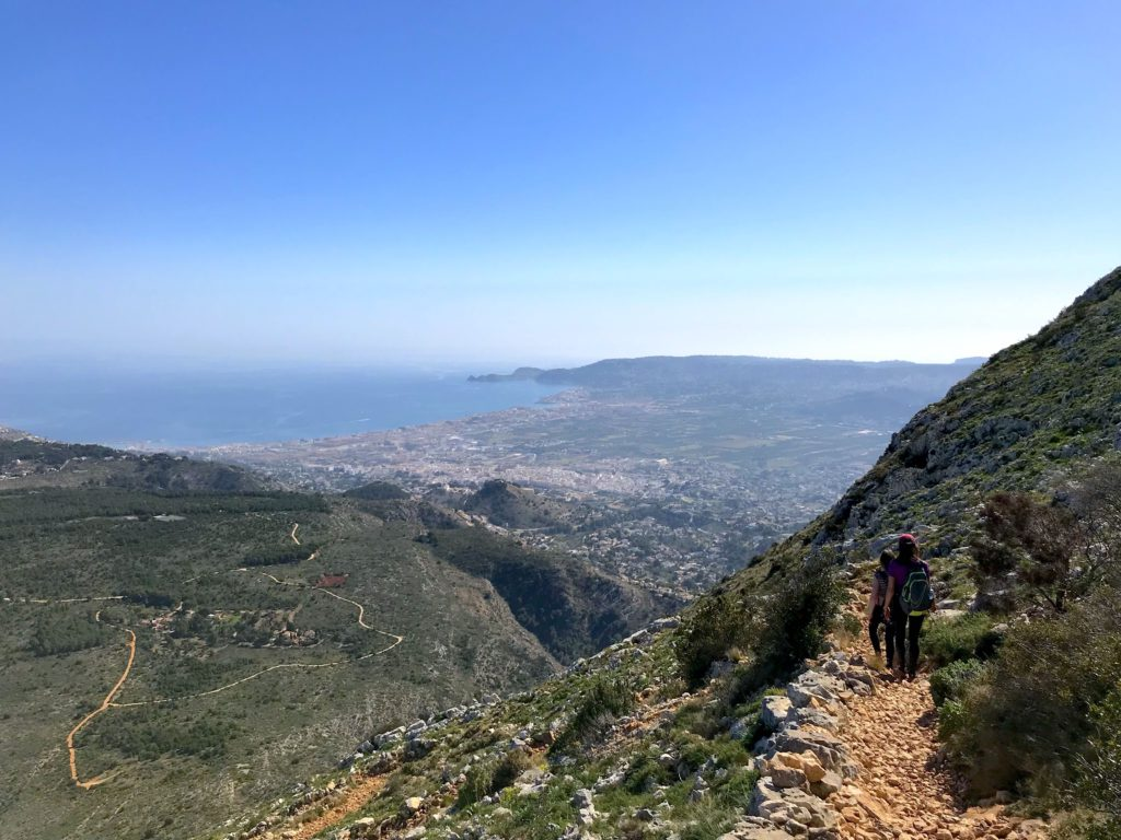 hiking around javea