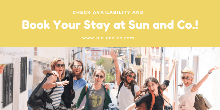 book your stay at sun and co