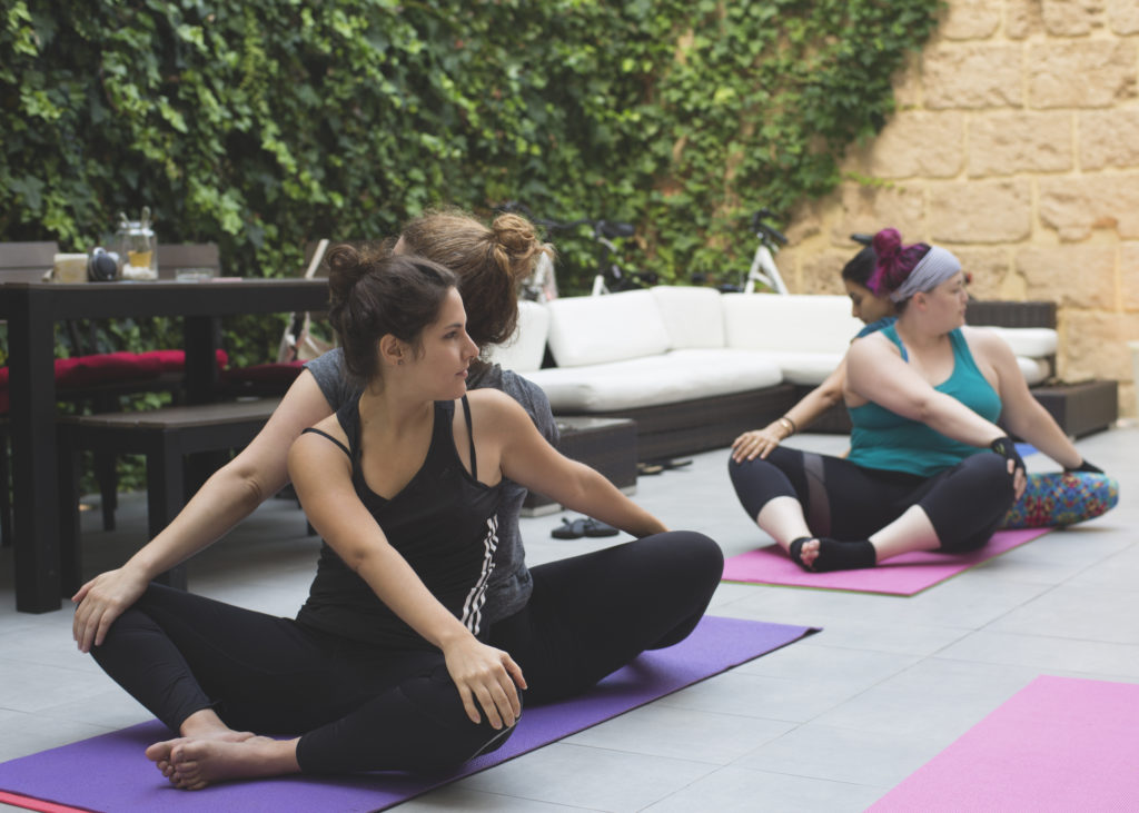 yoga at sun and co